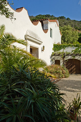 A home in Montecito, Calif. designed by Thomas Bollay.