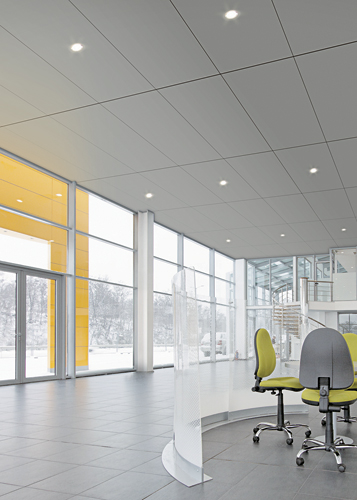 Armstrong Ceiling & Wall Systems has introduced its largest size metal ceiling panels for use in concealed suspension systems. Part of the MetalWorks line, the panels range in dimension from 2' x