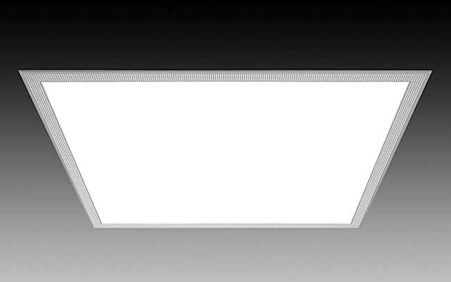 A recessed LED panel with a slim frame, Focal Point's Telios fixture integrates seamlessly into, and flush with, typical grid ceilings. Four different light outputs—from 2,309 to 3,945 lumens&#8