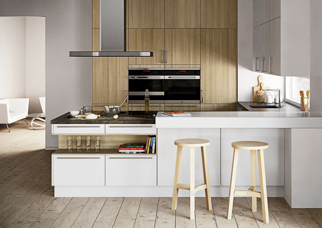 German kitchen brand Goldreif has been around since 1929, but it is only now arriving in the U.S., courtesy of another kitchen maker. Poggenpohl has launched Goldreif's three cabinet collections, whic