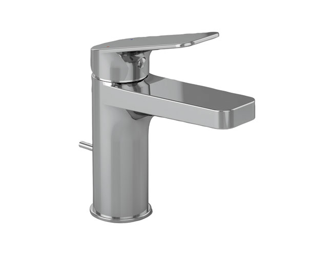 Sleek and pared down, these new single-hole faucets from TOTO have been designed with easy-to-operate levers for universal use. Three styles are offered, all in polished chrome and WaterSense-labeled,
