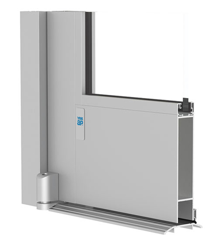 Designed for high-traffic storefronts and low-profile buildings, these medium- and wide-stile impact-resistant doors withstand large and small missile impact up to 50 PSF, as well as meet Florida's Hi
