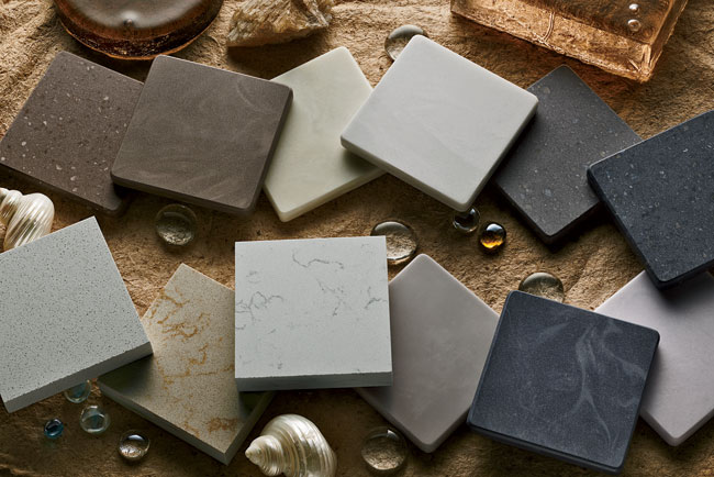 DuPont worked with global trend experts along with architects and designers to bring the company's 2013 surfacing options to market. Nine new products in the Corian collection are joined by three