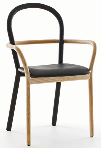 Sofia Lagerkvist, Charlotte von der Lancken, and Anna Lindgren, the three members of the Swedish design group Front, have collaborated on a striking new chair for the Italian manufacturer Porro that w