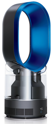 Dyson's Air Multiplier technology, which was first introduced in the company's bladeless fans, is being applied to humidifiers. Launching this coming fall, the units utilize an ultraviolet cleansing s