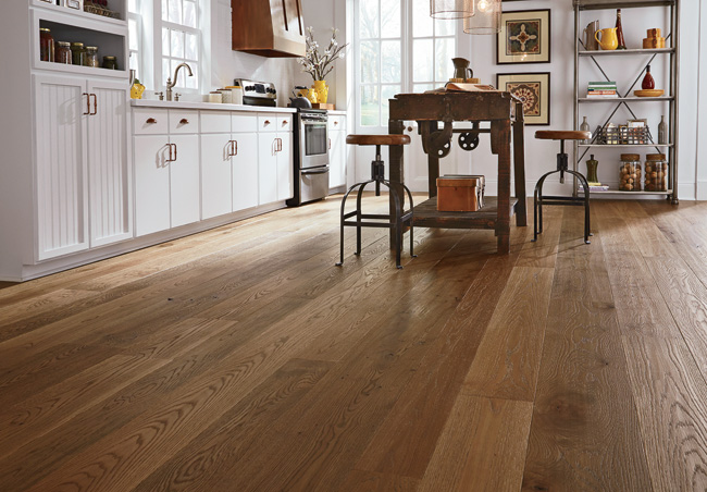 New Hampshire'based Carlisle Wide Plank Floors has been focusing on custom flooring for 48 years but has now introduced a number of pre-finished product lines. One such series is the Farmhouse collect