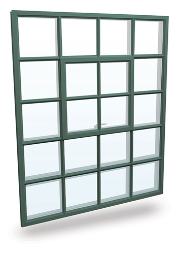 The SR6700 series steel replication window from Graham Architectural Products.