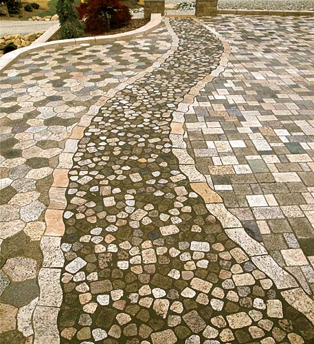 Recycled Stone Pavers