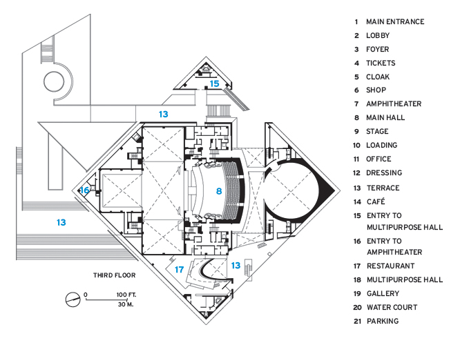 7368 Poly Grand Theater on Office Building Floor Plans
