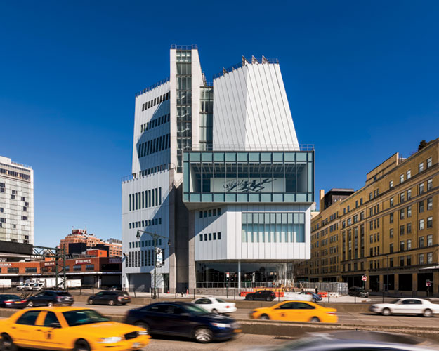 Whitney Museum of American Art by Renzo Piano Building Workshop