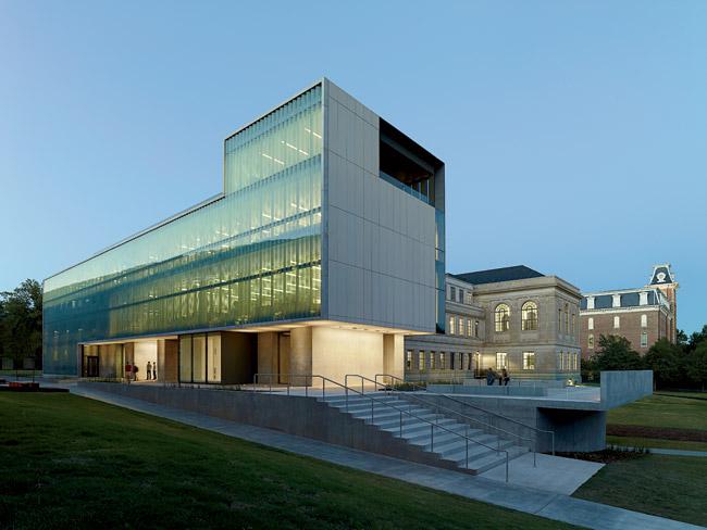 Fay jones school of architecture 2013 11 15 for Jones architecture