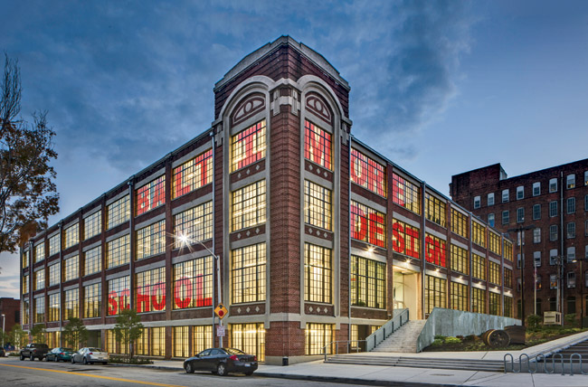 A resolute team of community leaders, residents, and professionals turned this former factory into a cutting-edge public design school for middle and high school students.