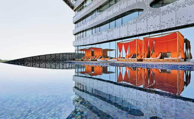 At The Park Hotel So M Designed Recreational Es Such As Infinity