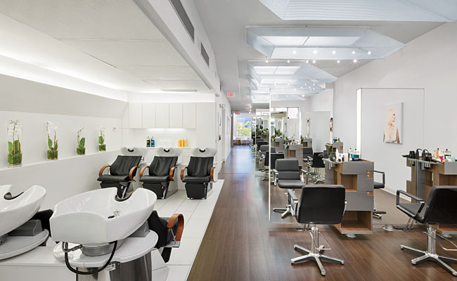 Bradley diegel salon by studio luz architects