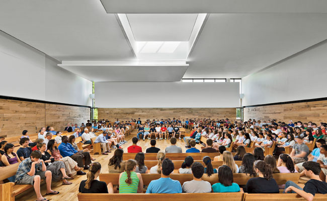 Quaker Meeting House by KieranTimberlake; Arup Lighting