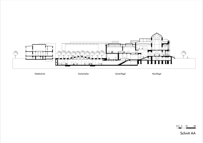 Garden Hall Cross Section