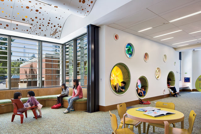 Library Design making space for more than books – trends in library design