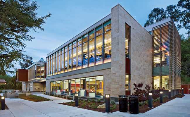 Los Gatos Public Library by Noll & Tam Architects / Illuminosa