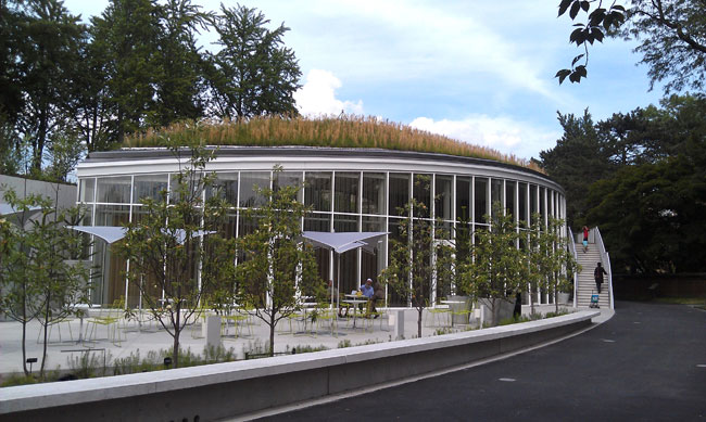 Brooklyn Botanic Garden Visitor Center