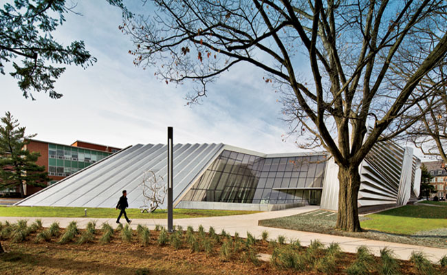 Eli and Edythe Broad Art Museum by Zaha Hadid Architects