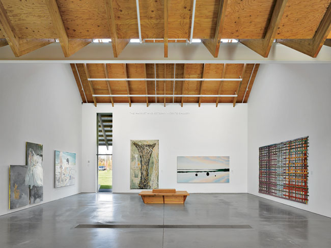 Based on a 1,000-square-foot unit, some galleries double to 2,000 square feet; others are subdivided into an intimate 500.