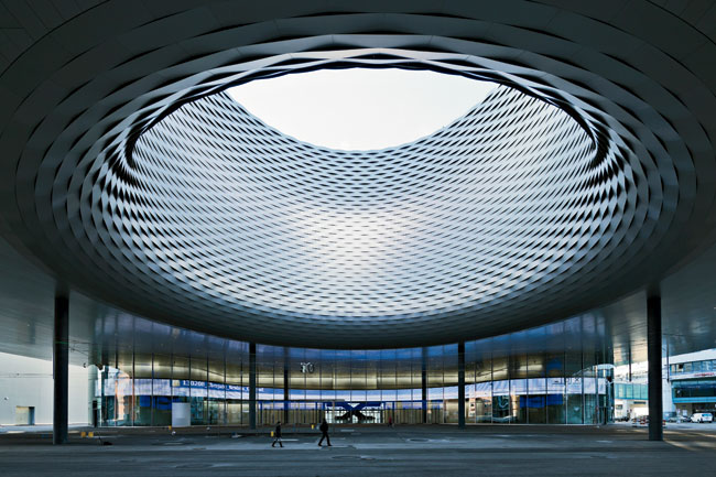 Basel convention center new hall herzog amp de meuron basel