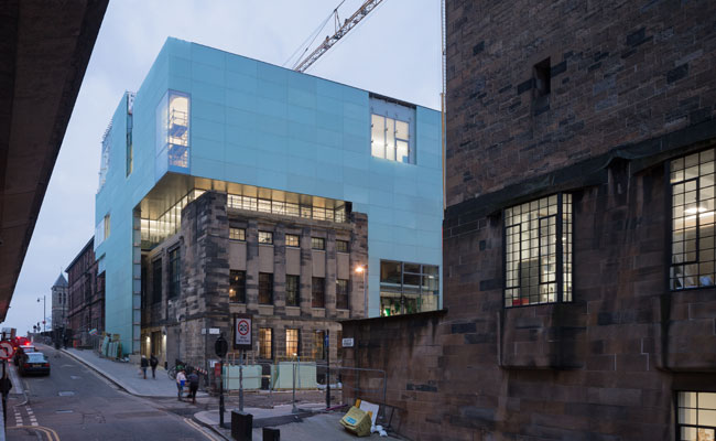 Seona Reid Building, The Glasgow School of Art by Steven Holl Architects