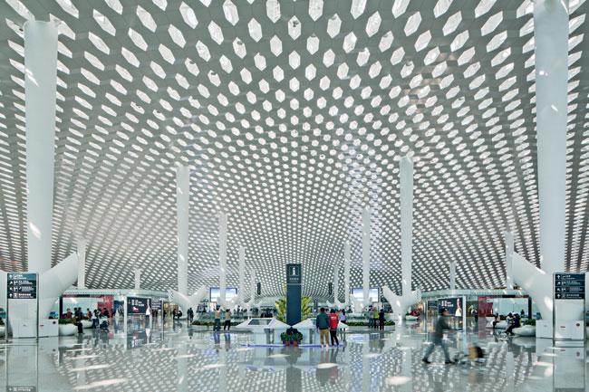 Shenzhen Bao An International Airport Terminal 3 2014 03