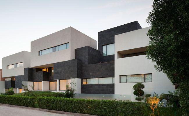 Black And White Pictures Of Houses Modern House