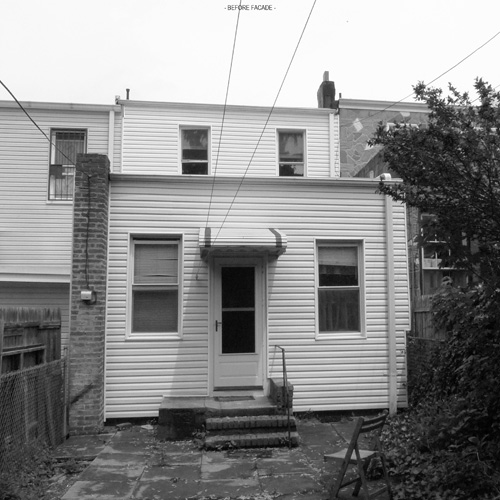 Brooklyn Row House prior to renovation.