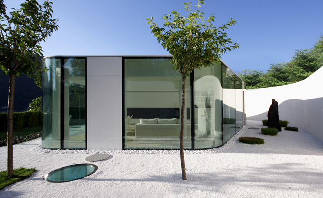 Lake Lugano House by JM Architecture