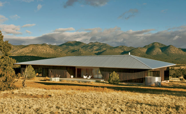 Lone Mountain Ranch House by Rick Joy Architects