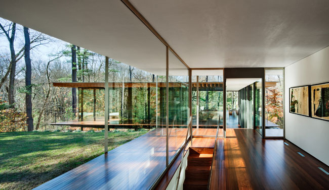 Glass Wood House By Kengo Kuma And Associates 2011 04 16