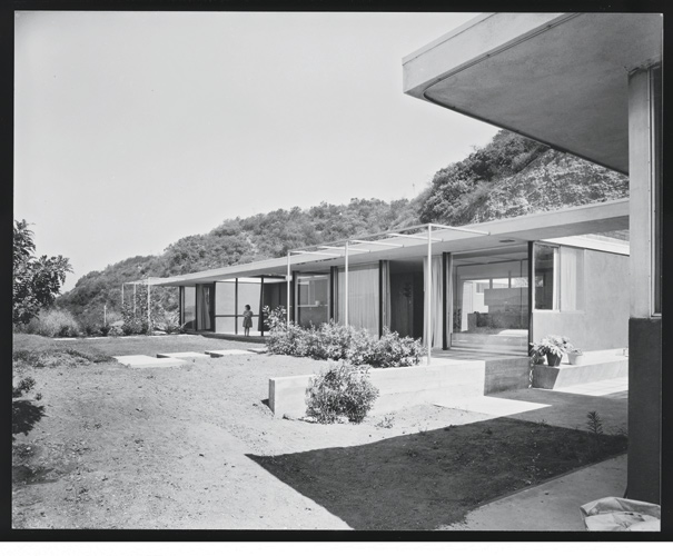 "The midcentury grounds, later overgrown by the owner's ""jungle,"" were created by Garrett Eckbo."