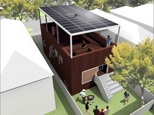 Sustainable home designed by Adjaye Associates