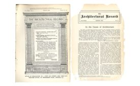 In the Cause of Architecture, March 1908