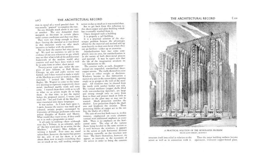 Frank Lloyd Wright Essays (Examples)