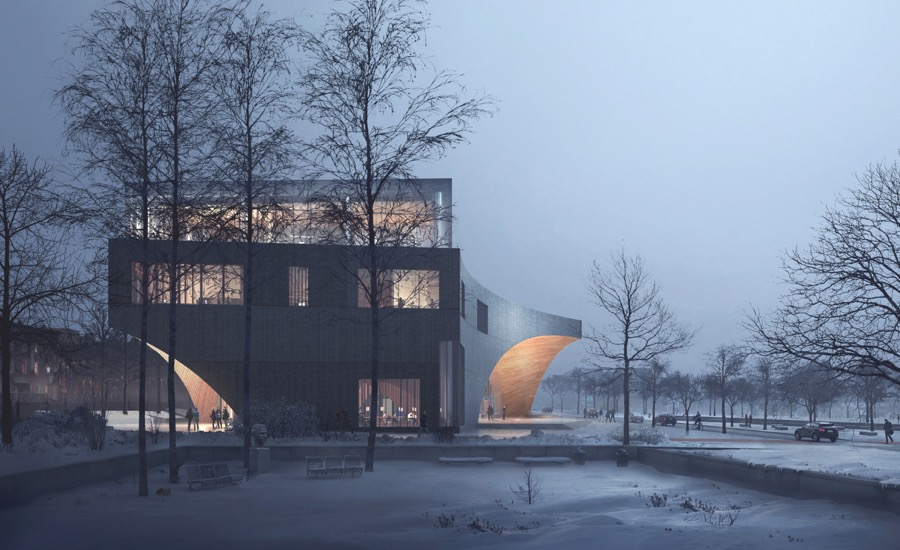 Snøhetta Designs New Library for Temple University