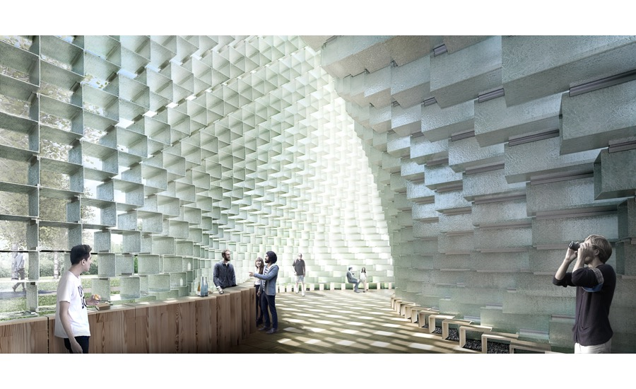 Serpentine Pavilion, Bjarke Ingels Group