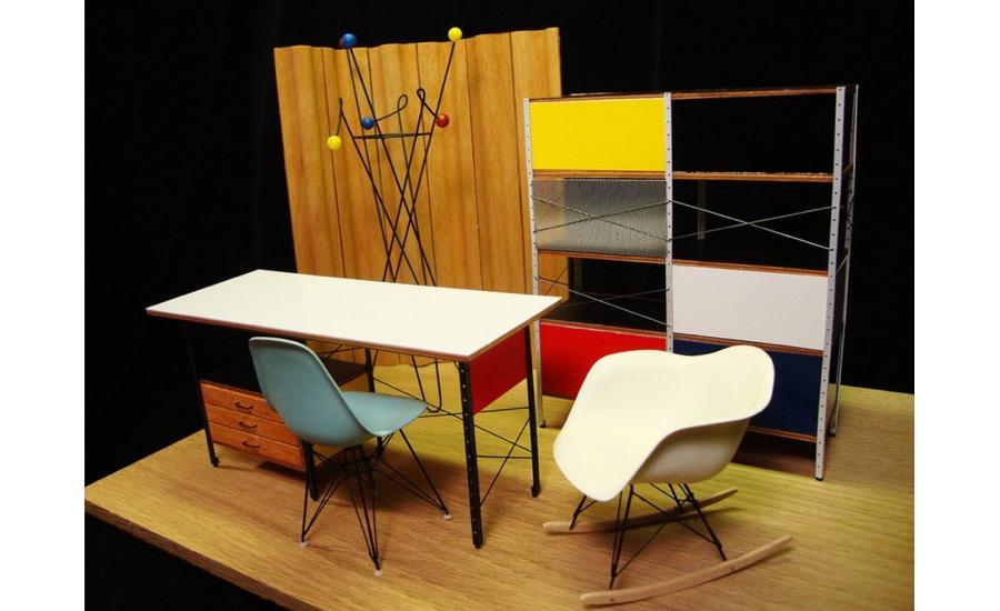 Mid Century Modern Miniatures 2016 04 15 Architectural