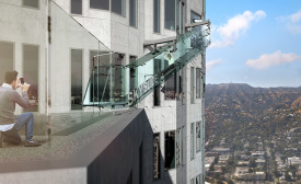L.A Tower Set to Include Glass Slide Thrill Ride