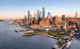 First Building in Hudson Yards Opens