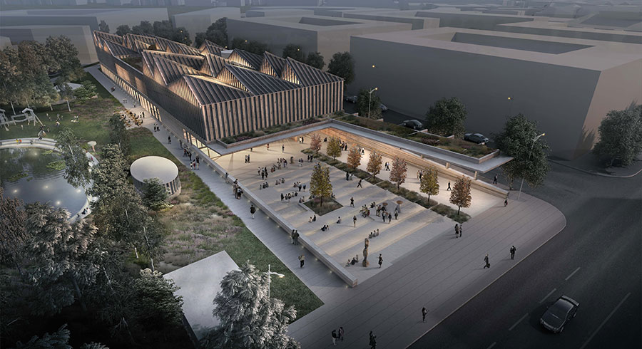 Adjaye Associates to Design Latvian Art Museum