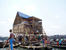 Floating School in Lagos Shantytown