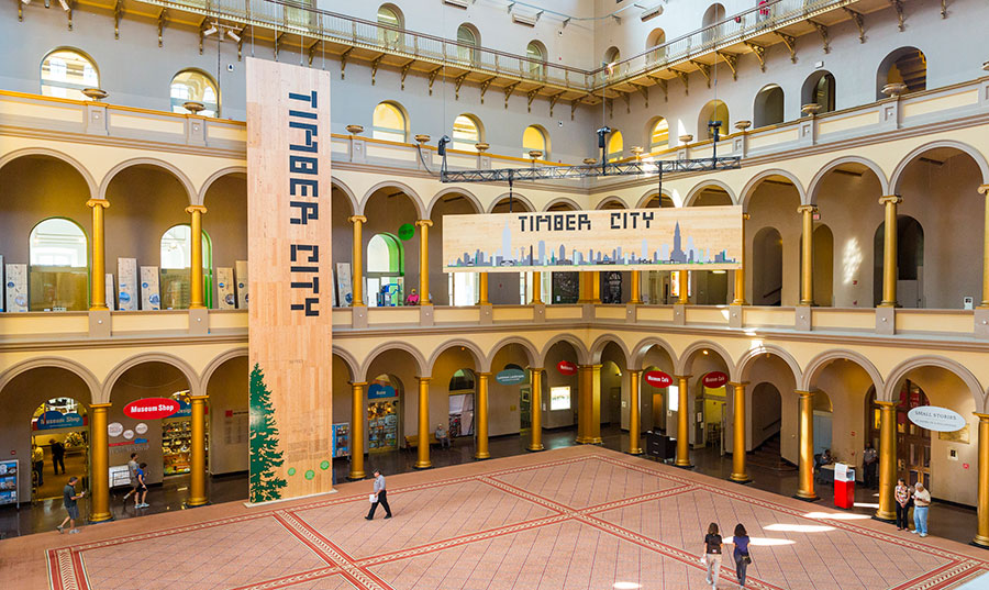 Timber City National Building Museum