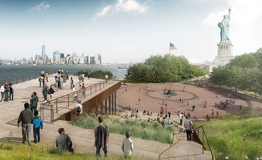 Fxfowle-statue-of-liberty-museum-groundbreaking-01
