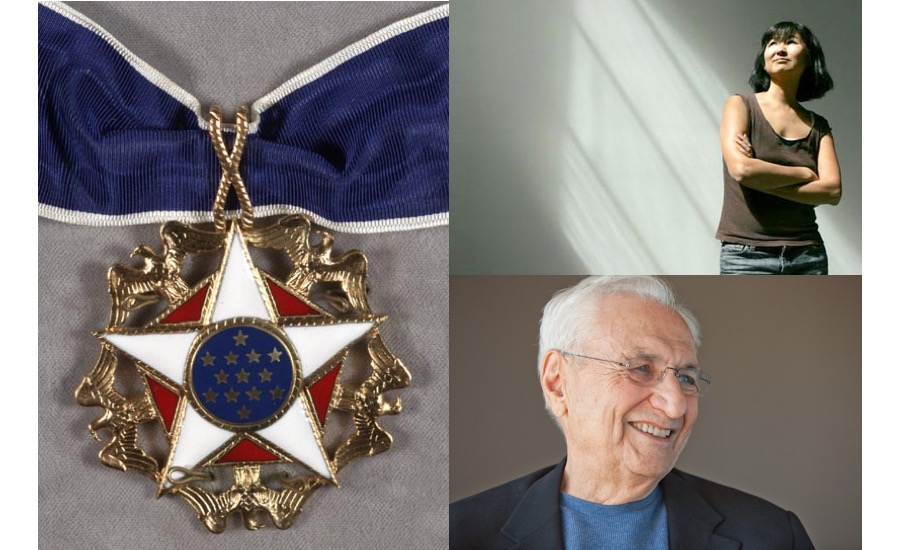 Maya Lin and Frank Gehry to receive the Presidential Medal of Freedom