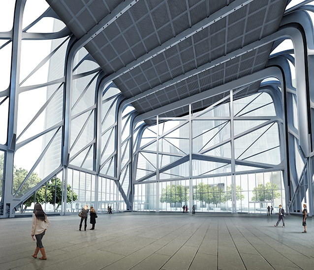 An Early Look At New York S Adventurous New Arts Facility