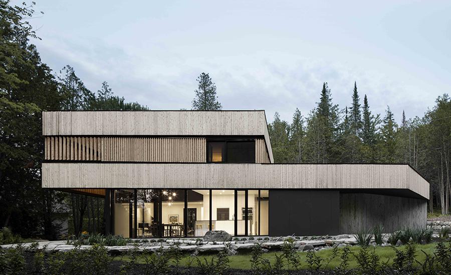 Maison sur le Lac by ACDF Architecture | 2017-06-23 ...