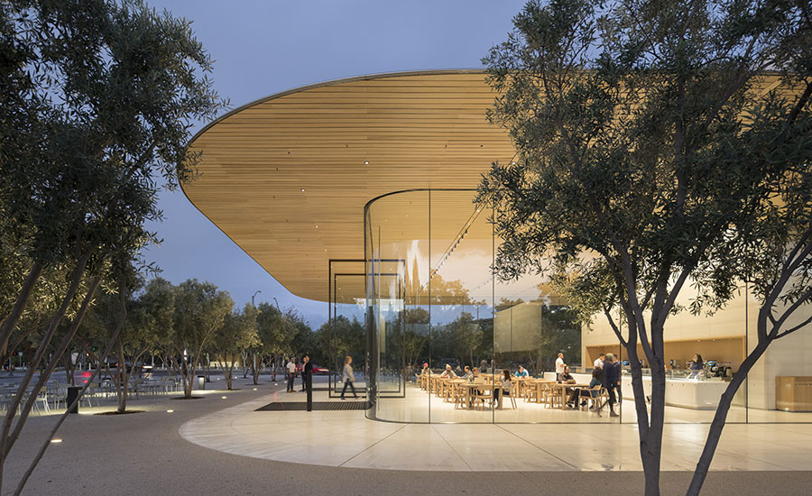 Visitor Center Opens at Norman Foster-Designed Apple Campus
